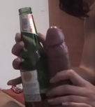 imagen Feliz y borracha le mide la verga a su novio (amateur)