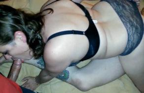 imagen Una noche muy larga para la puta de mi esposa (trio amateur)