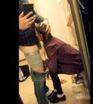 imagen Graba a su novia rusa de ojos verdes mientras le hace una mamada