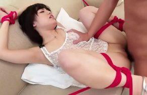 imagen Follada a una sumisa muy cerda que adora las cuerdas de bondage