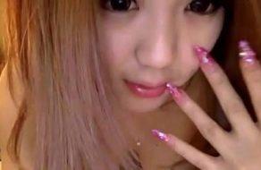 imagen Jovencita coreana follada por su novio conectada a la webcam